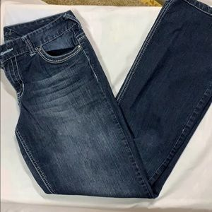 Maurice's Straight 11/12 long jeans
